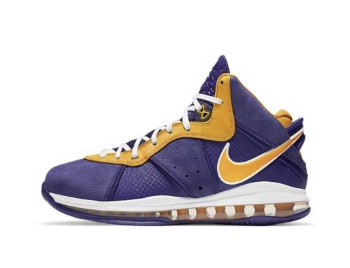 LAKERS LEBRON   8 HERE 2020